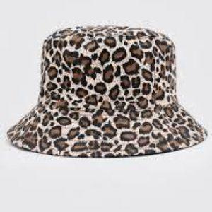 New! Leopard Print Bucket Hat